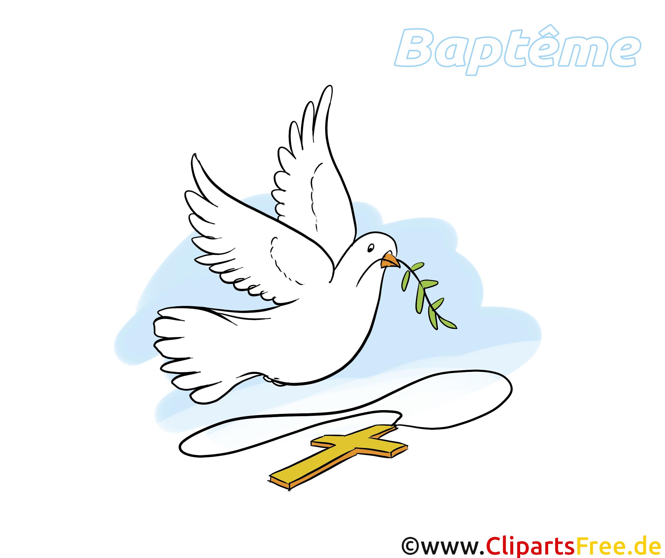 Colombe de la paix clipart gratuit - Baptême images