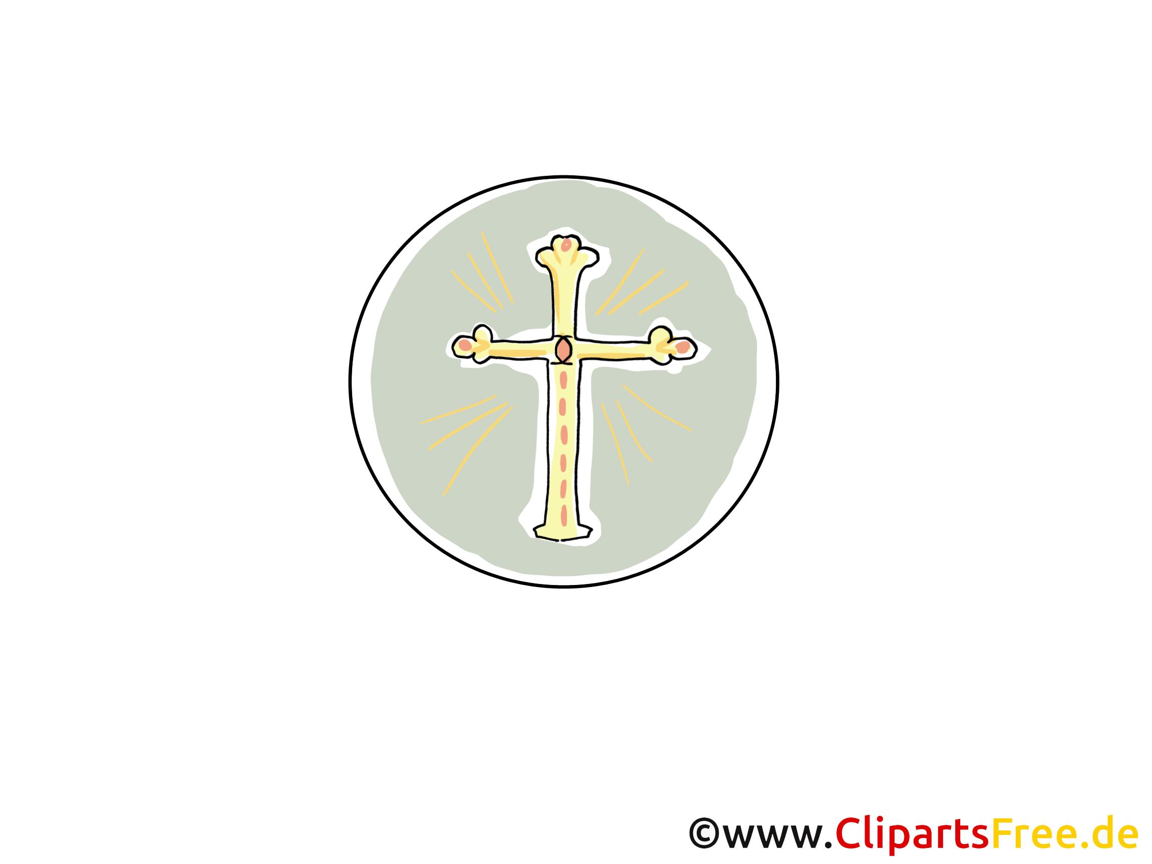 Croix clipart gratuit - Baptême dessins gratuits