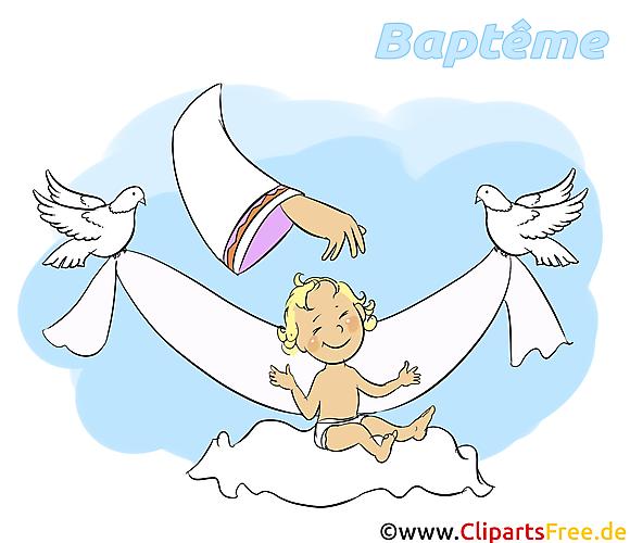 Dieu image gratuite - Baptême  images cliparts