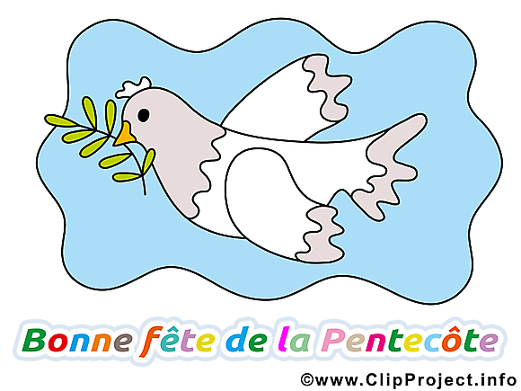 Clip arts gratuits Pentecôte illustrations