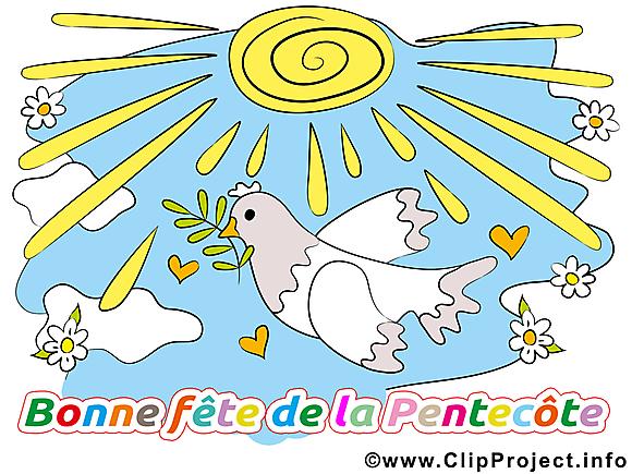 Colombe images gratuites – Pentecôte clipart gratuit