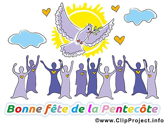 Dessins gratuits Pentecôte clipart