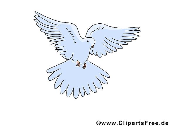 Pentecôte clip art gratuit – Colombe  images gratuites