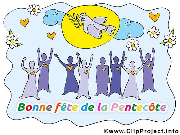 Pentecôte dessin gratuit à télécharger