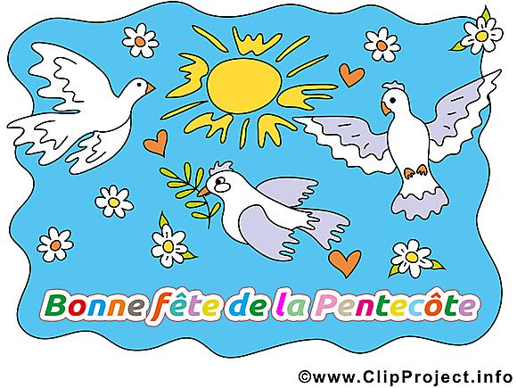 Pentecôte illustration images gratuites
