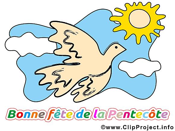 Soleil clip art gratuit - Pentecôte dessin