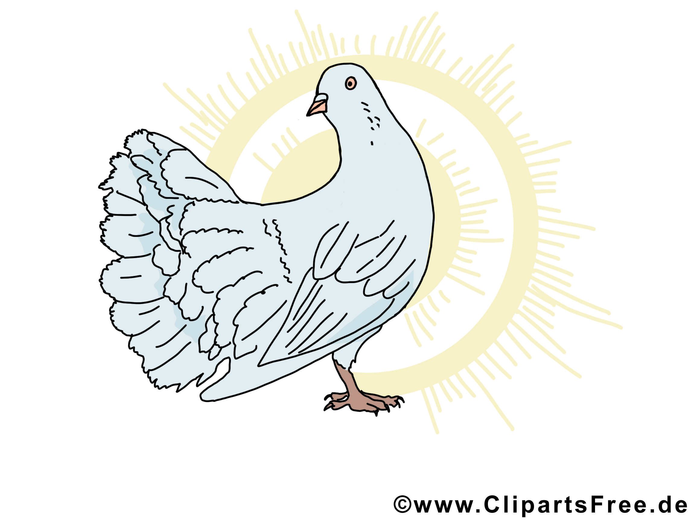 Soleil images gratuites – Pentecôte clipart gratuit