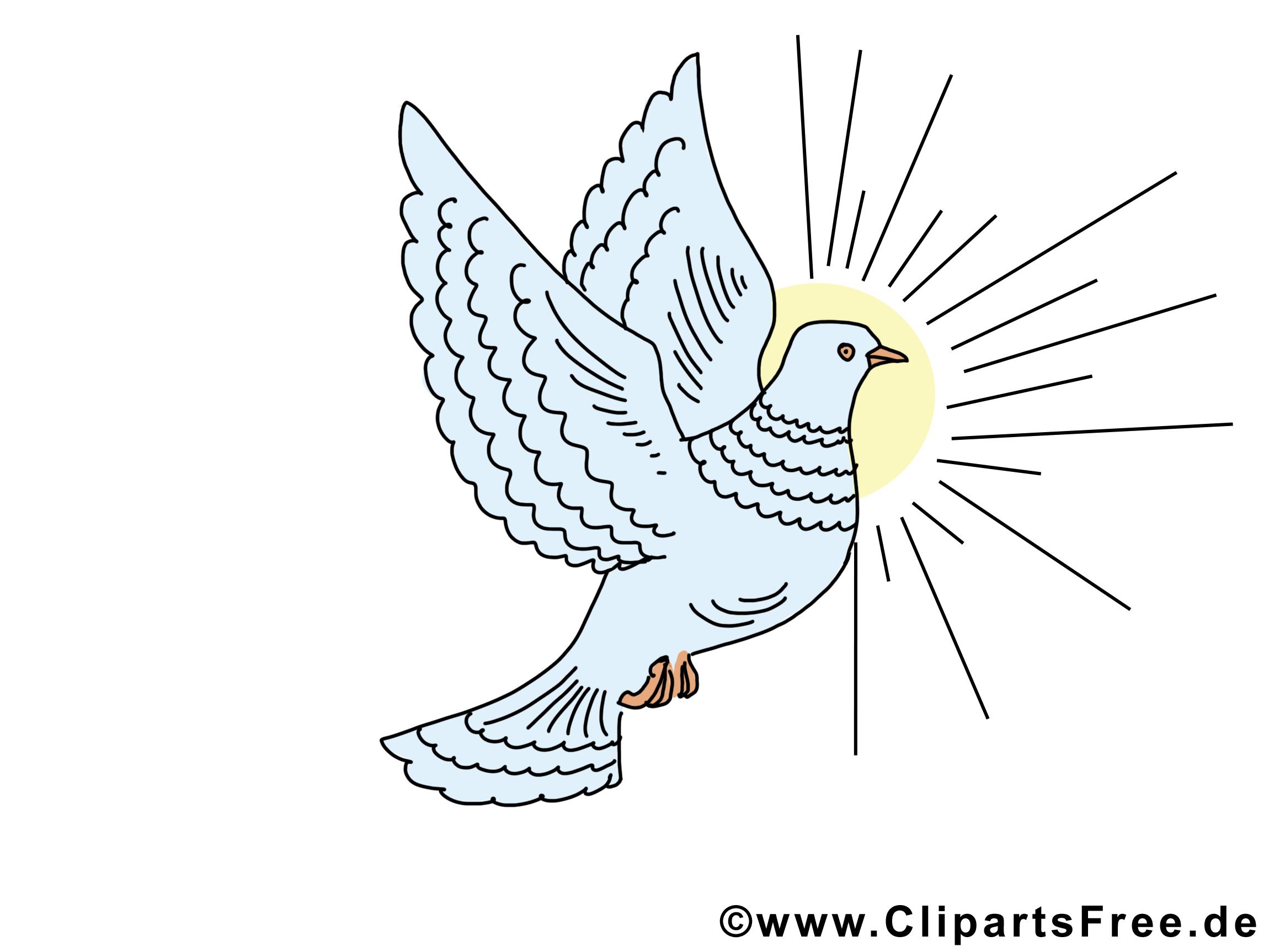 Soleil pentecôte illustration à télécharger gratuite