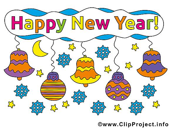 Bon nouvel an image gratuite – Bonne année illustration