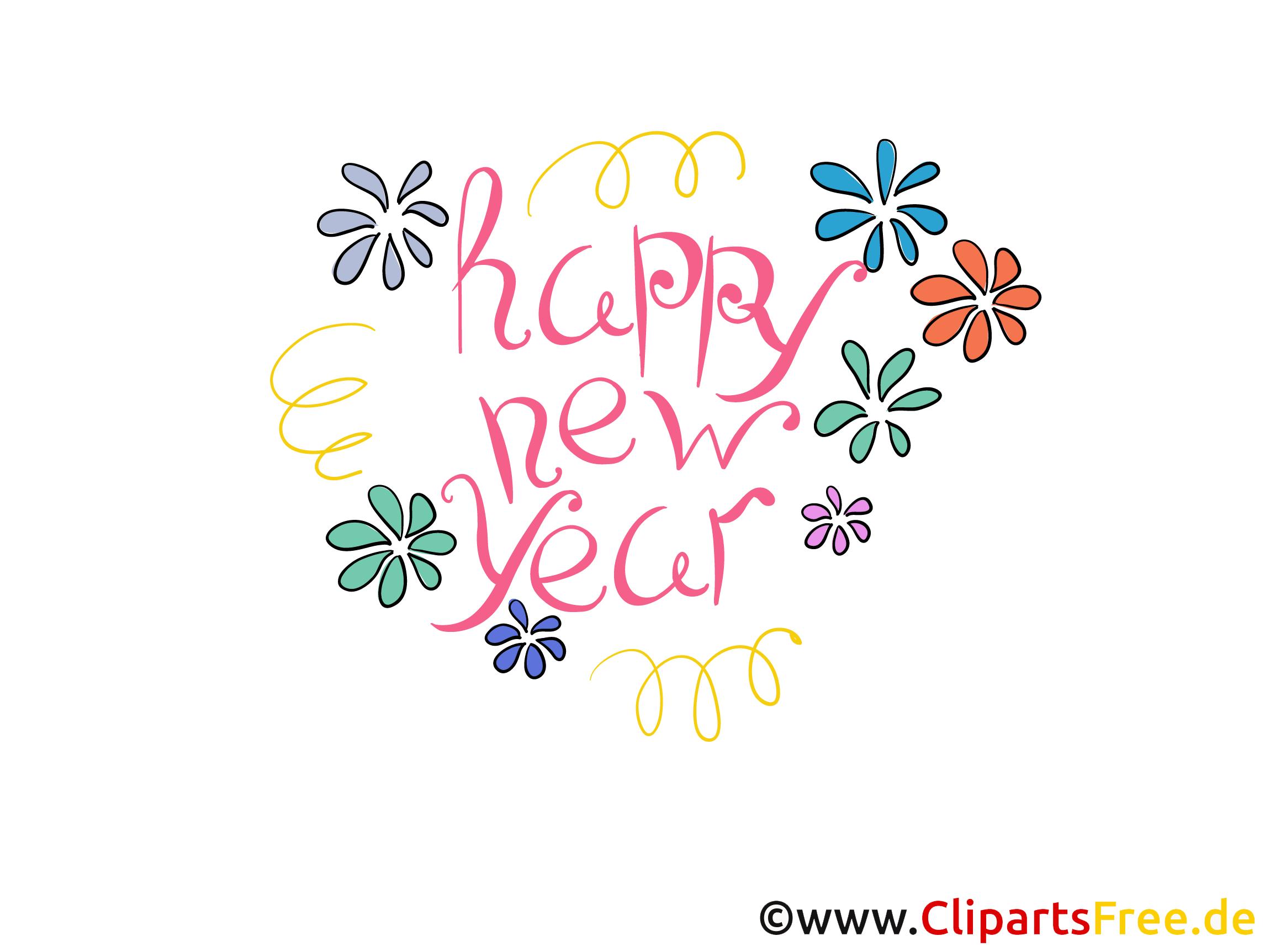 Bonne Année - Cartes de Vœux virtuelles gratuites