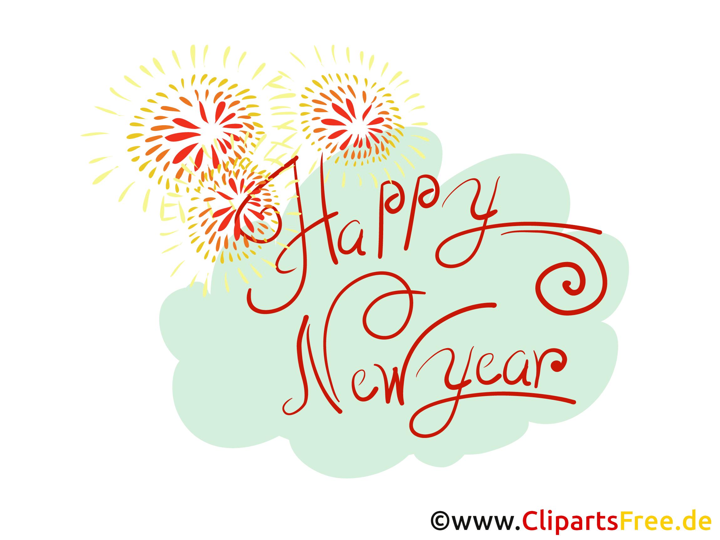 Bonne année clipart