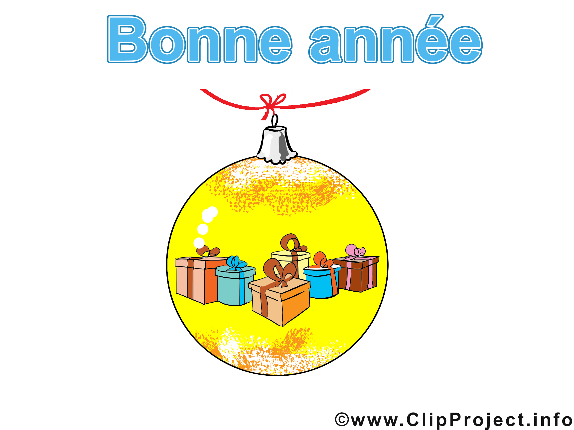 Boule cadeaux image gratuite – Avent cliparts
