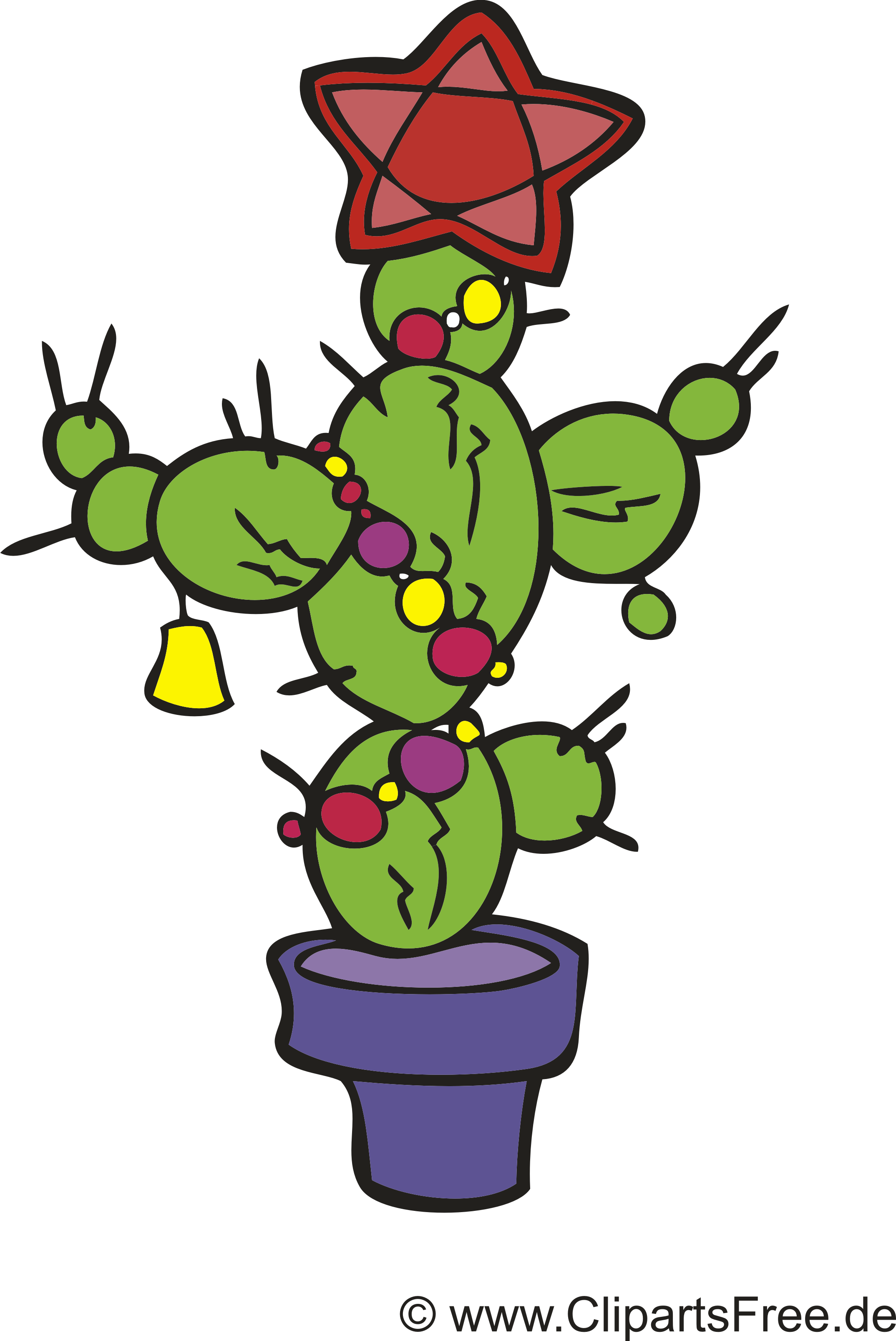 Cactus dessin à télécharger – Bonne année images