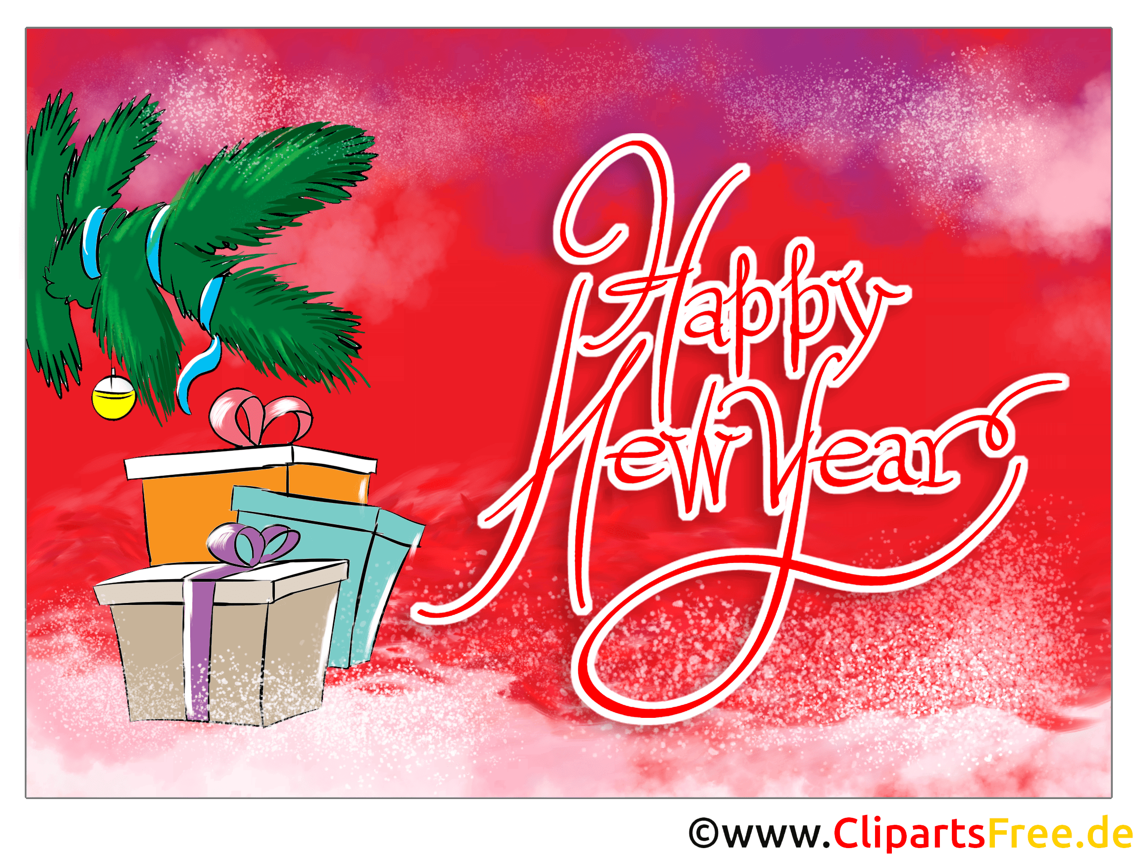 Cartes bonne année virtuelles gratuites