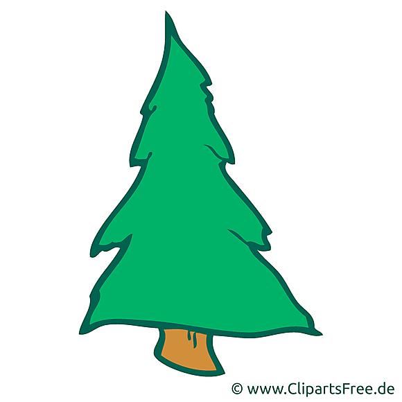 Clip art gratuit sapin – Bonne année dessin