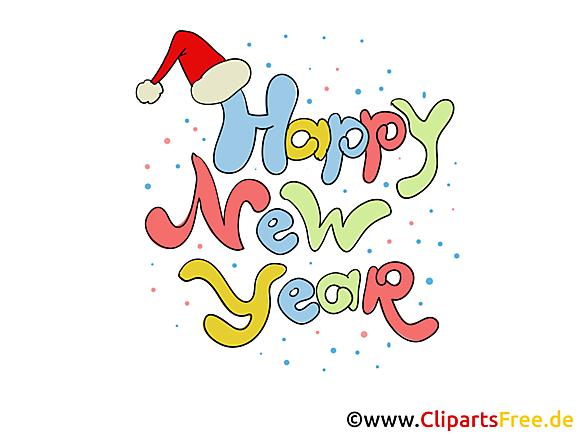 Clipart gratuit bonne année - Clipart Collections