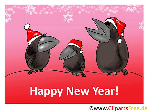 Cliparts gratuit bonne année