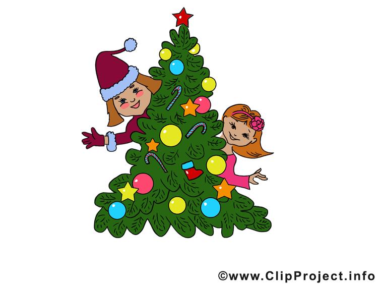 Enfants dessin - Bonne année clip arts gratuits