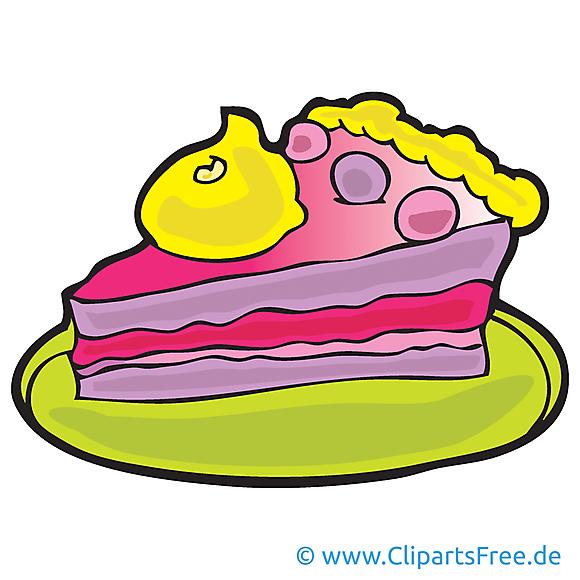 Gâteau clip art gratuit – Bonne année dessin