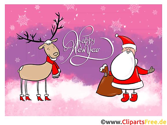 Image de carte de voeux carte voeux bonne année