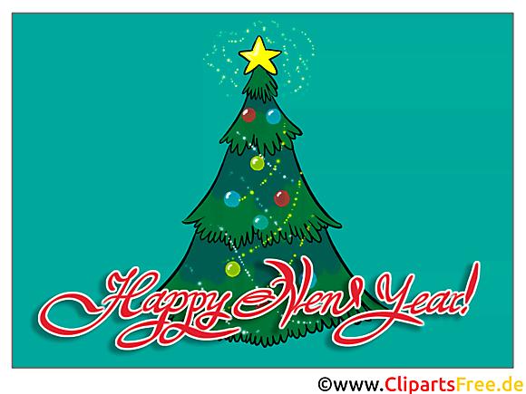 Sapin de Noël - Cartes virtuelles bonne année