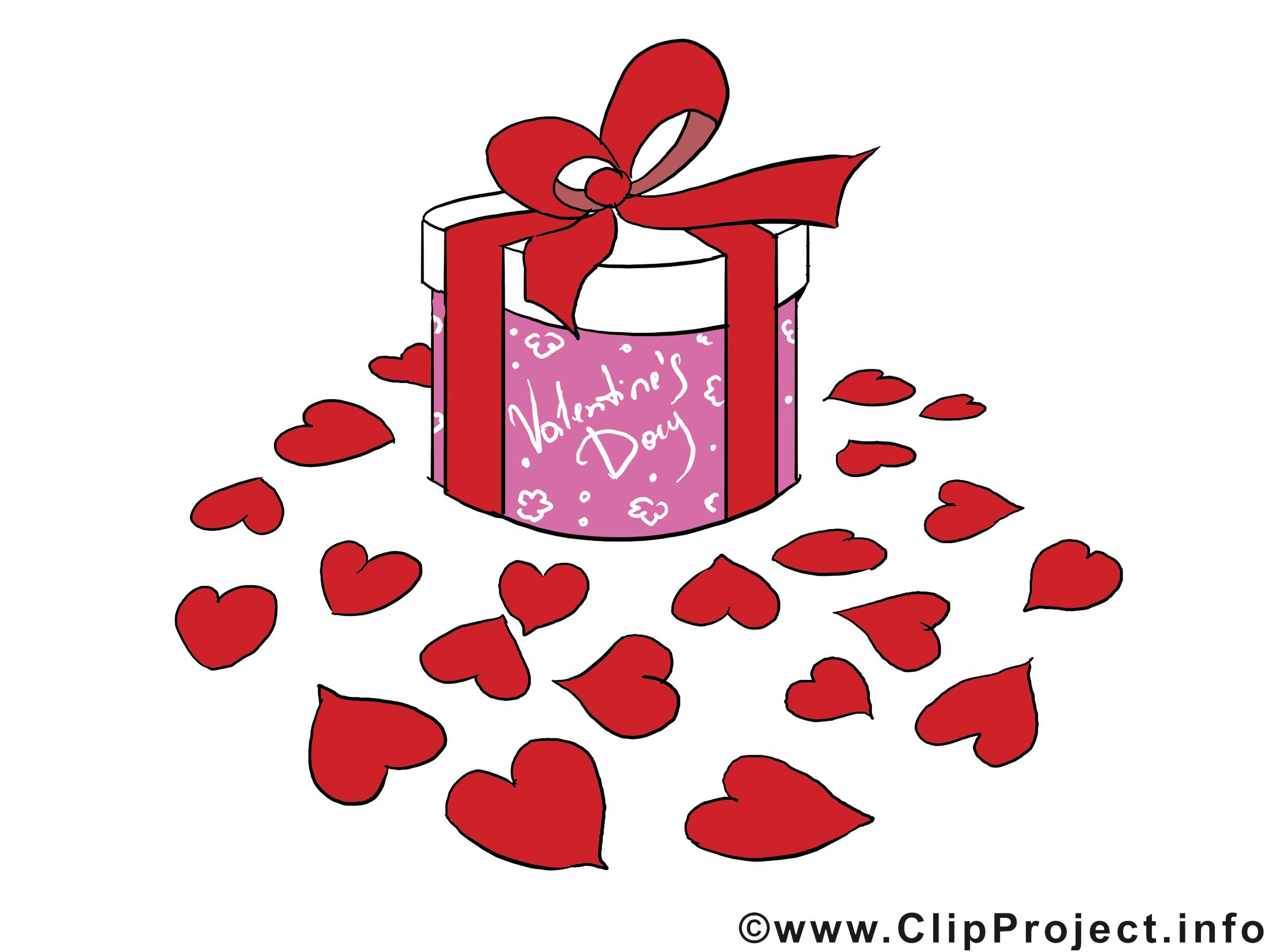 Cadeau cliparts - Saint-Valentin images gratuites