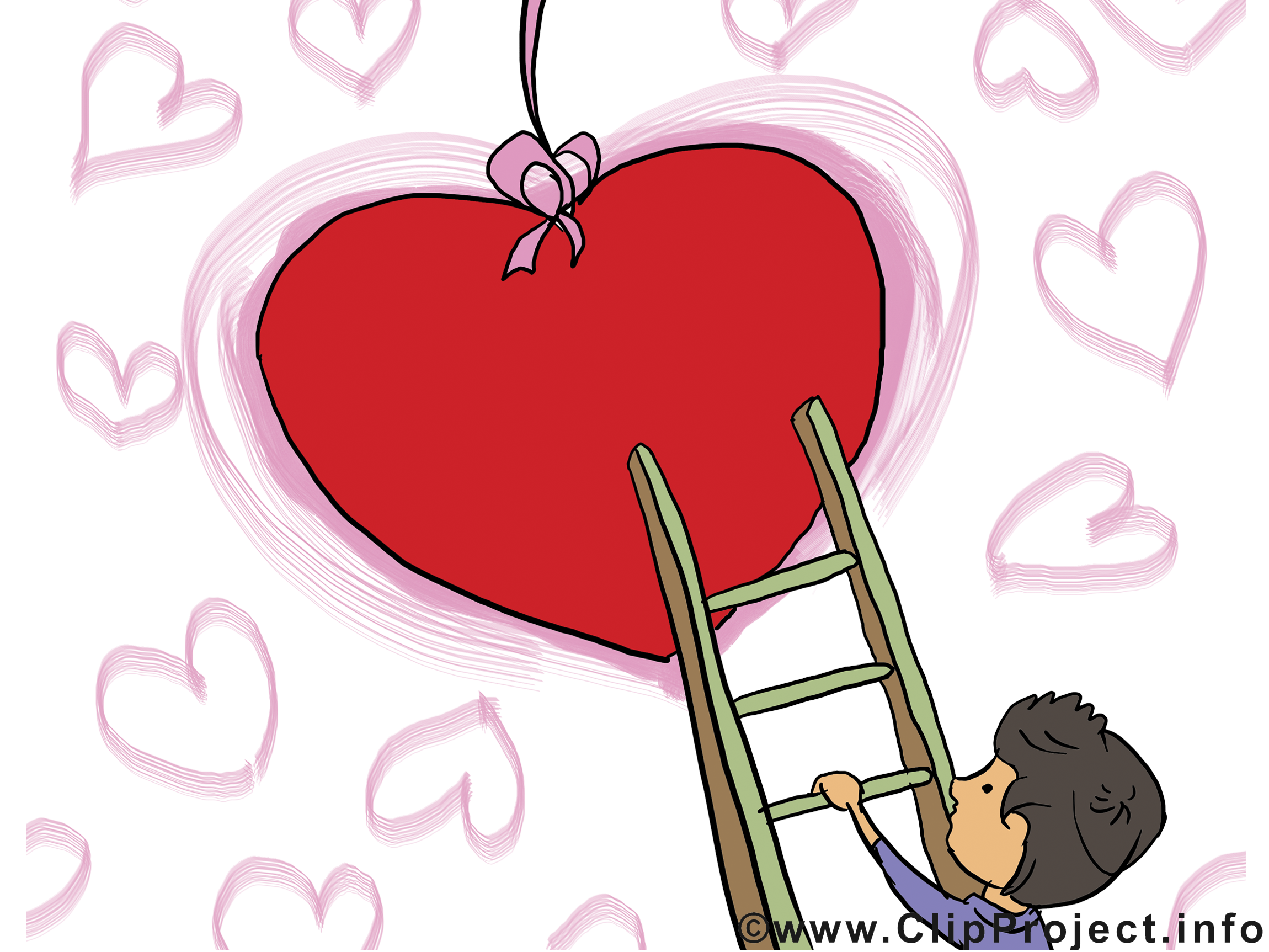 Carte virtuelle gratuite Saint-Valentin clip art