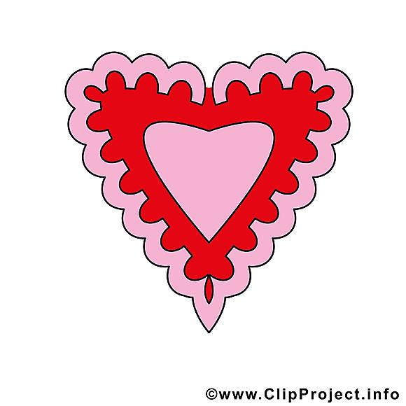 Coeur images - Saint-Valentin dessins gratuits