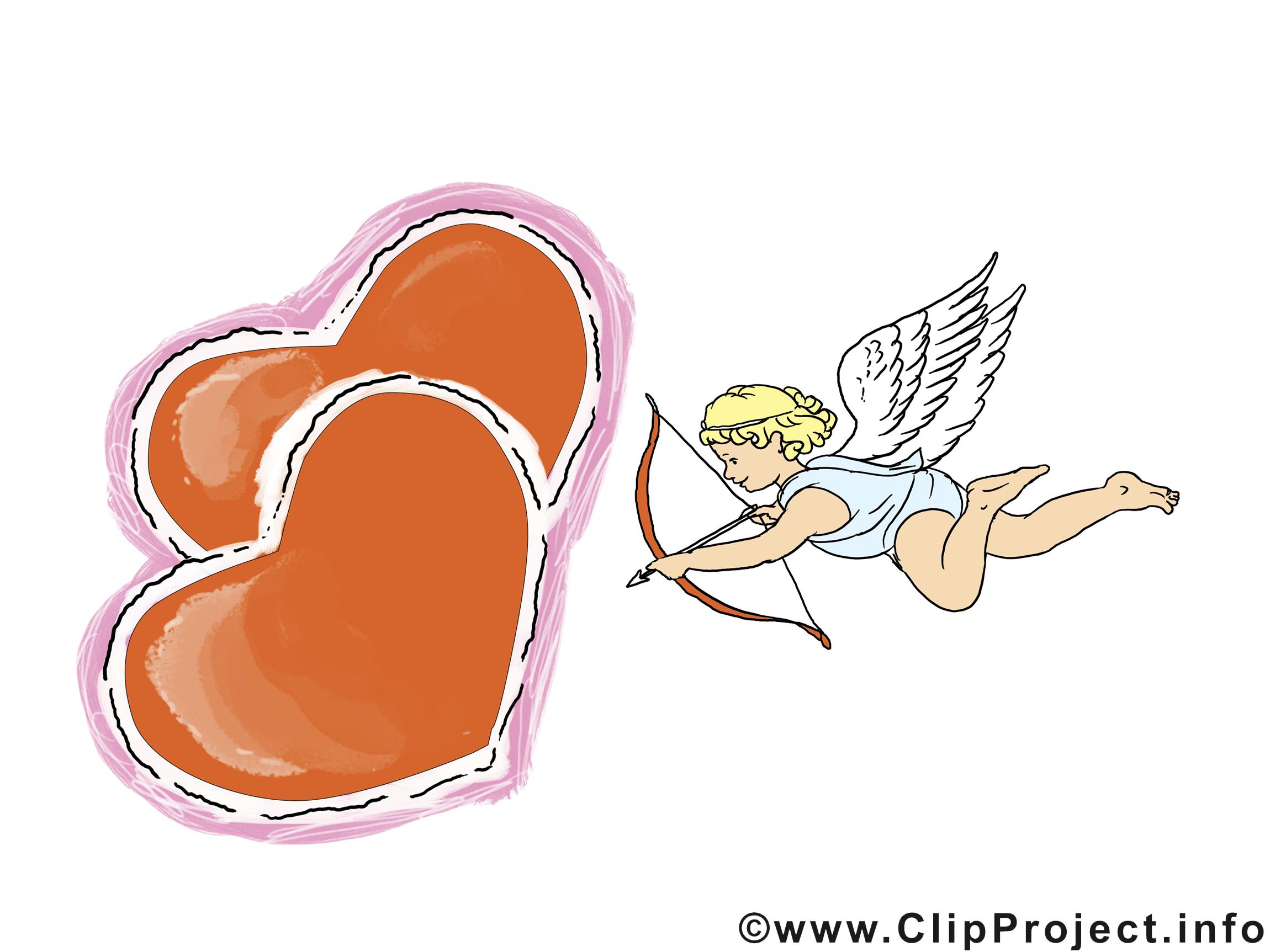 Cupidon carte gratuite saint valentin image saint valentin cartes mariage dessin picture - Image de cupidon gratuite ...