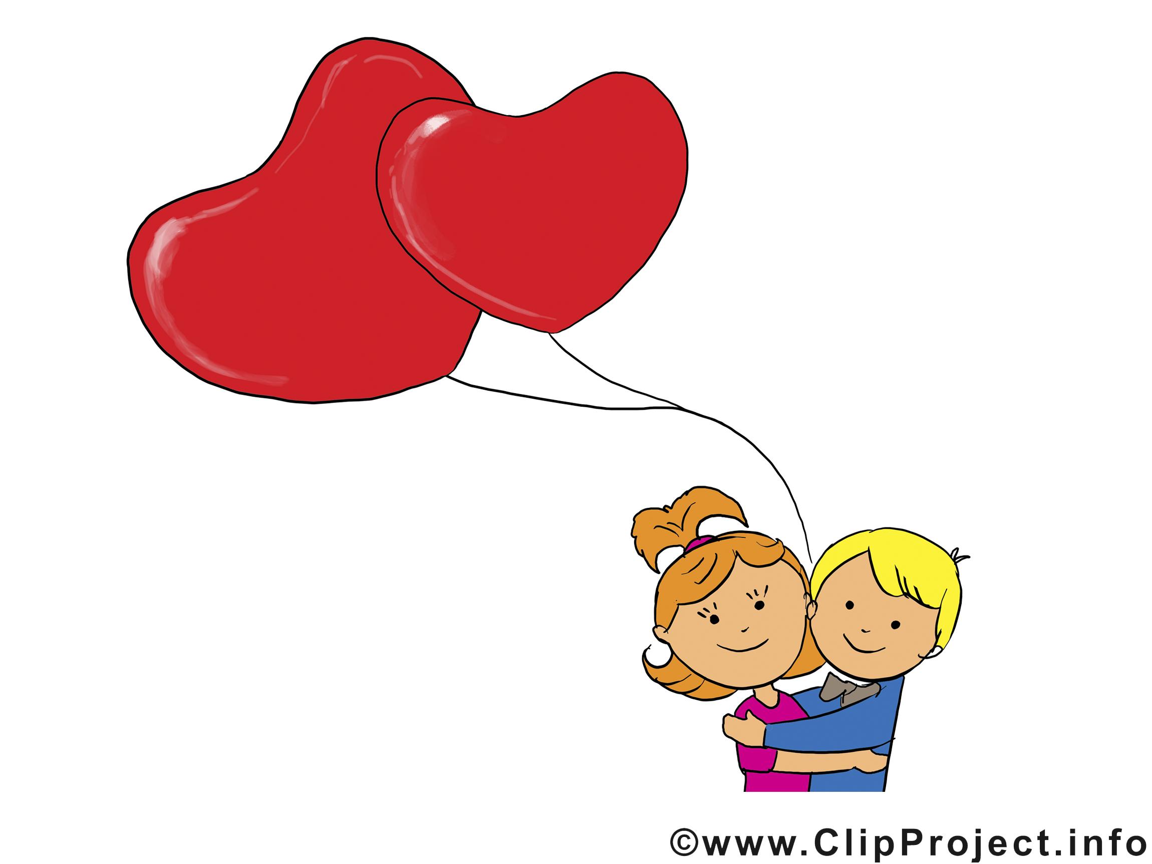Je t'aime images - Saint-Valentin dessins gratuits