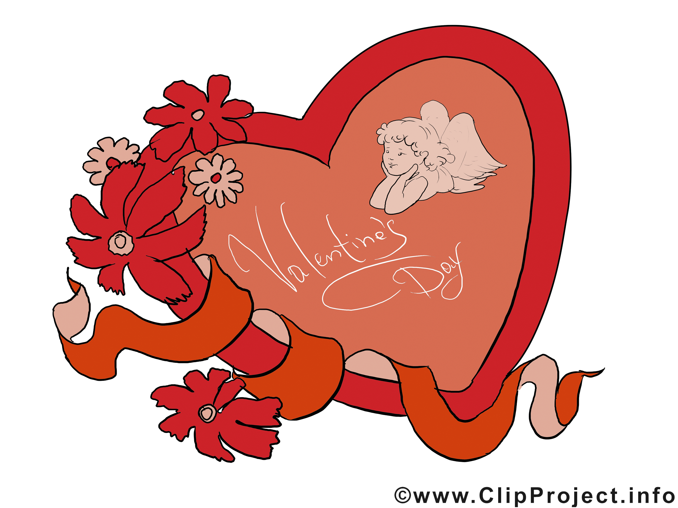 Jour de Saint-Valentin cartes gratuites