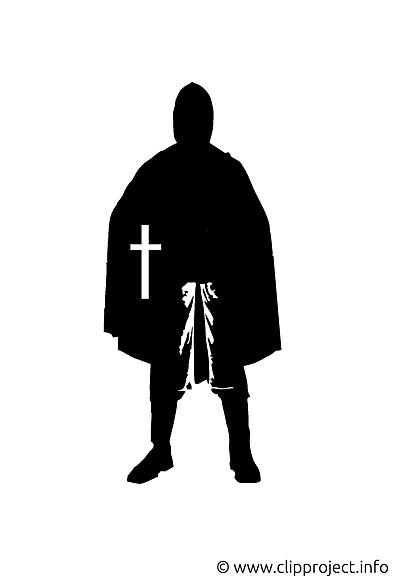 Croisé silhouette illustration à télécharger gratuite