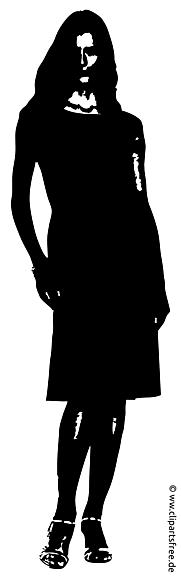 Femme clipart gratuit - Silhouette images