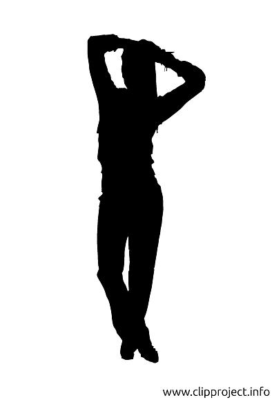 Fitness silhouette image à télécharger gratuite