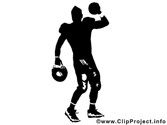 Footballeur image gratuite - Silhouette cliparts