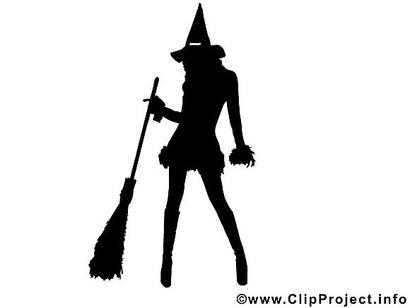Halloween image gratuite - Silhouette images cliparts