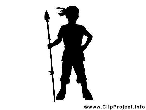 Indien image gratuite – Silhouette clipart