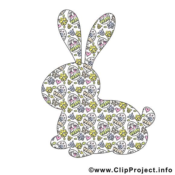 Lapin images - Pâques dessins gratuits