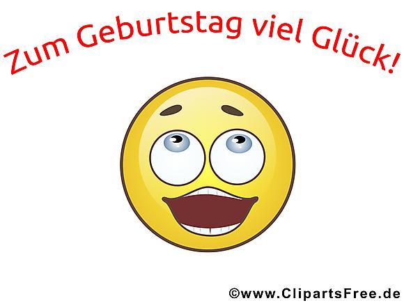 Bon anniversaire smiley dessin gratuit smileys dessin - Image smiley gratuit ...