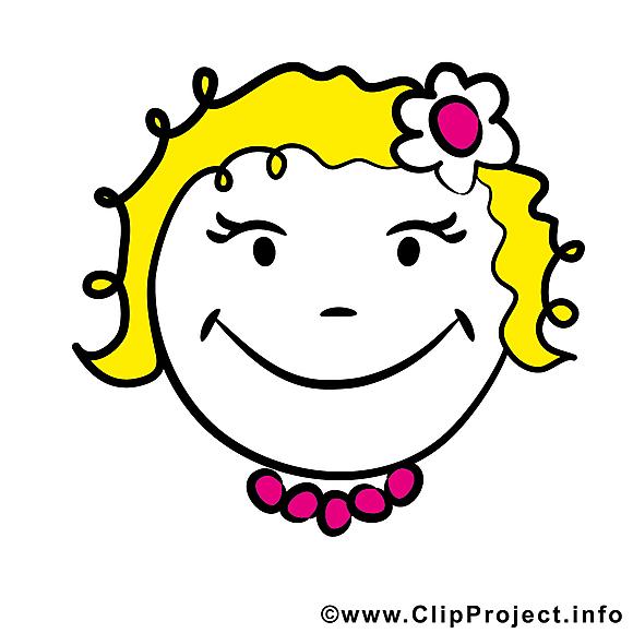 Émoticône smiley clipart gratuit