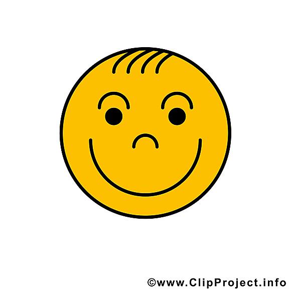 Émoticône sourire illustration gratuite