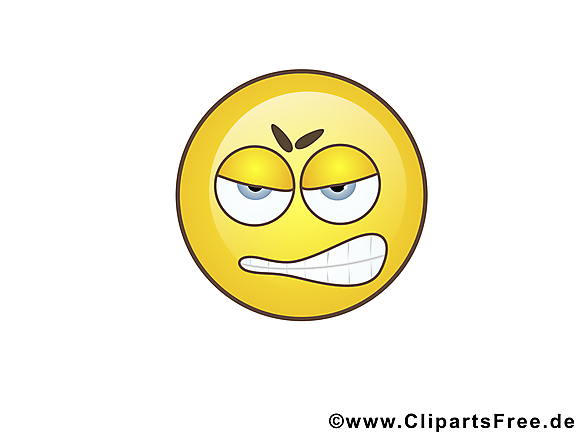 En colère smiley dessin gratuit à télécharger