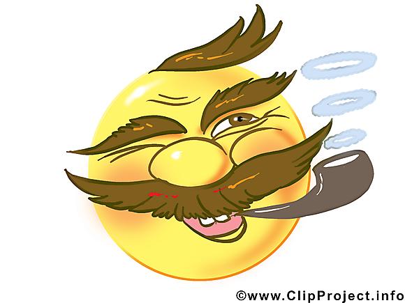 Fume smiley dessin gratuit