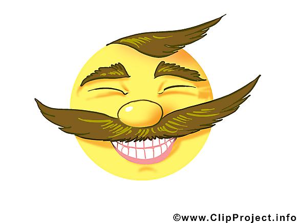 Grand sourire smiley illustration à télécharger gratuite