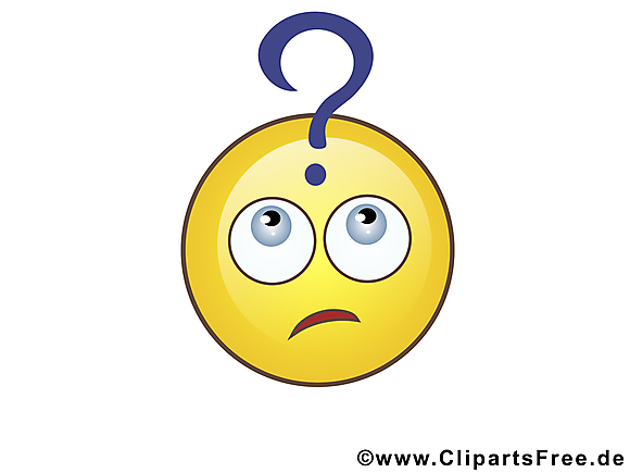 Perplexe smiley clip art gratuit