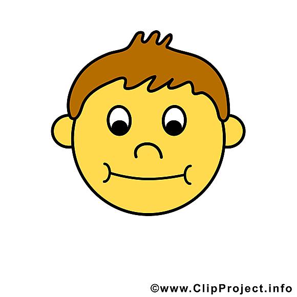 Smiley emoticône dessin gratuit