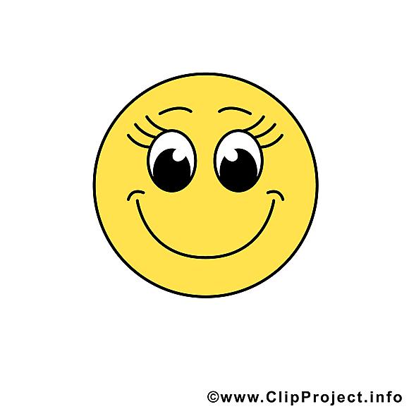 Smiley sourire dessin gratuit à télécharger
