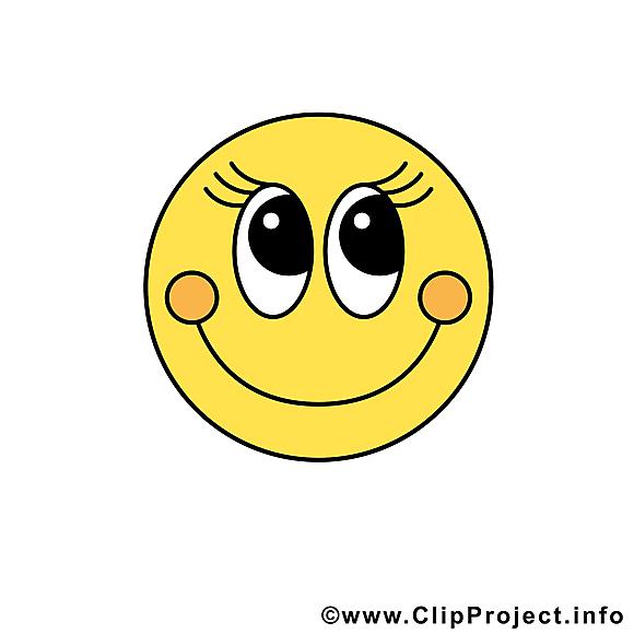 Sourire smiley clip arts gratuits