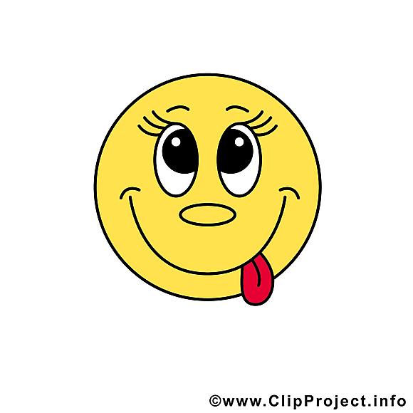Tire Langue Emoticone Image Gratuite Smileys Dessin Picture Image Graphic Clip Art Telecharger Gratuit