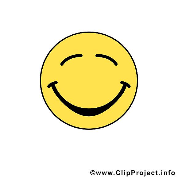 Très heureux émoticône clipart gratuit